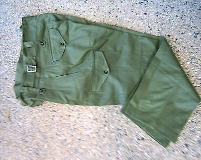 """CROSSOVER PANTS 1960's NEW SIZE 34"""" (86cm) VIETNAM AUSTRALIAN ARMY ISSUE"""