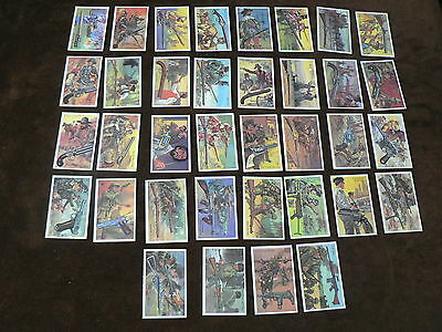 Wills Embassy Cigarette Cards, World of Firearms, Full set of 36, 1982, Loose