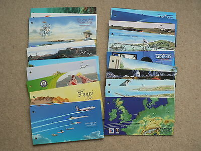 Alderney Presentation Packs, 1999 - 2006, Sold Individually, Mint Stamps, MNH