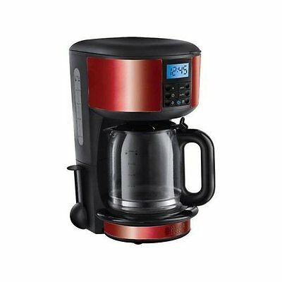 Russell Hobbs - 20682 - Cafetière programmable Legacy Rouge