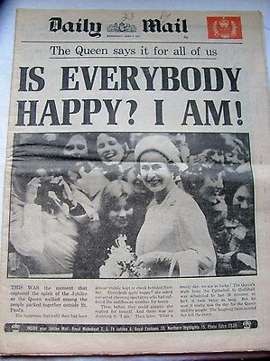 Daily Mail Newspaper 8Th June 1977