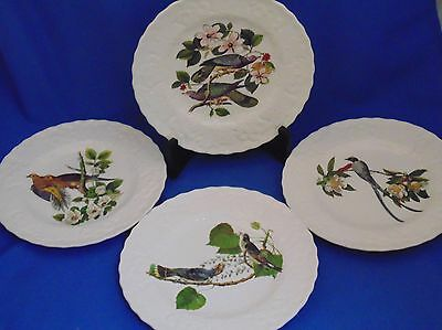 """Set of 4 Alfred Meakin - Birds of America - Plates - 8-3/4"""""""