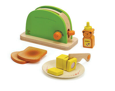 E3105 HAPE Pop-Up Wooden Toaster [Playfully Delicious] Toddler Children Age 3yr+