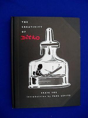 The Creativity of Ditko, Craig Yeo. Hardcover Book.