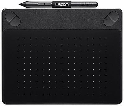 Wacom Intuos Photo Pen and Touch Graphics Tablet - PC & Mac Compatible - Black