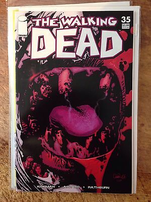 The Walking Dead #35 NM Kirkman Adlard Image Iconic Cover Nm/nm+ Cgc Candidate