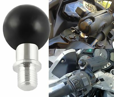 Motorcycle Mirror Base 1 inch ball M10 x 1.25 pitch male thread Ram-B-349U