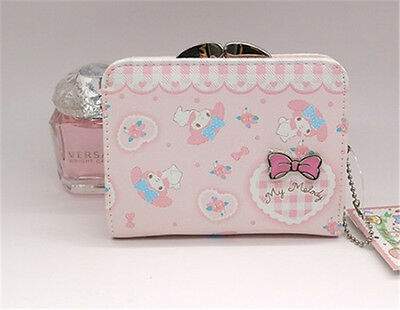 My Melody Kiss-clasp wallet purse #064