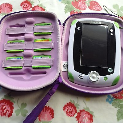 Leapfrog Leap pad With Case & 5 Games
