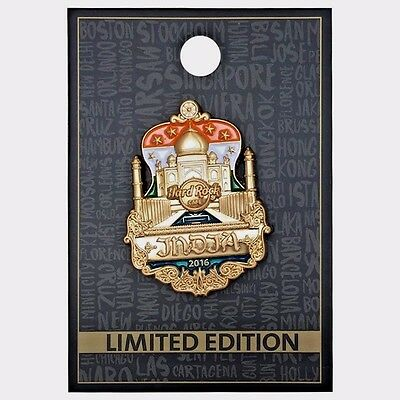 Hard Rock Cafe / Cut Off Guitar India 2016 / ONE Pin only / V3