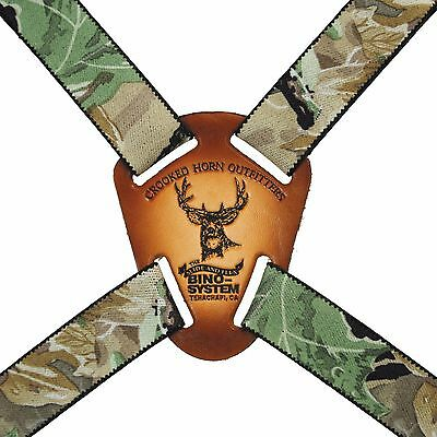Crooked Horn Outfitters Bino Binocular Slide & Flex Harness Realtree Camo BS-124