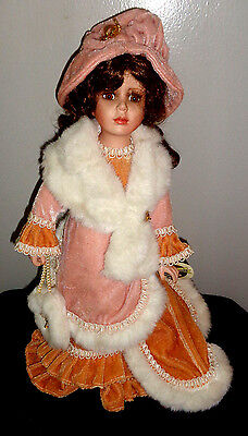 Collectible Memories  Porcelain Doll 16""