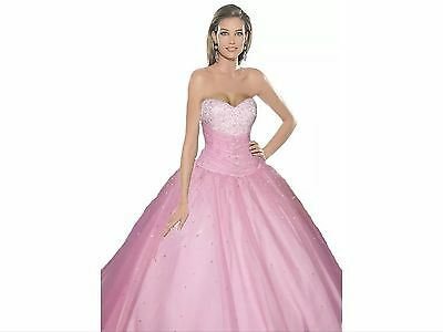 Long Wedding Bridesmaid Evening Party Gown Prom Dress 8