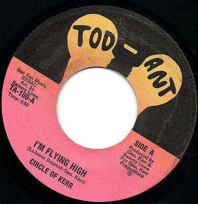Circle Of Kerr - I'm Flying High - Northern Soul - Rare Usa Import - Ex Cond