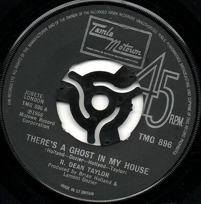 R. Dean Taylor - There's A Ghost In My House - Northern Soul - Wigan Casino Rare