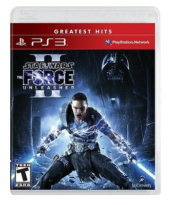 Star Wars: The Force Unleashed 2 II [PlayStation 3 PS3, Greatest Hits] NEW