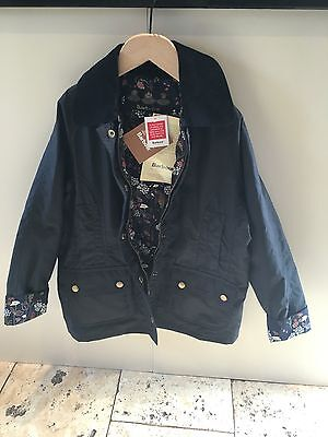 BRAND NEW GIRLS BARBOUR RANNOCH BEADNELL WAX JACKET Size M 8-9 RRP £129 CURRENT