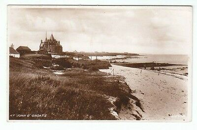 At John O' Groats Caithness 1925 Real Photograph Valentines 96591 Published 1951