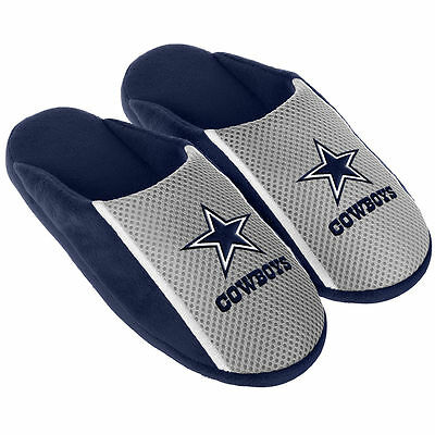 Pair Dallas Cowboys Jersey Slide Slippers - Team Color House shoes JRS16 Style