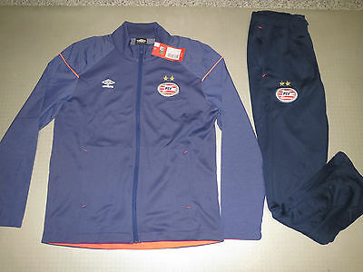 PSV Eindhoven Survêtement 15/16 Original Umbro Gr 36 40 44 48 52 56 piste suit
