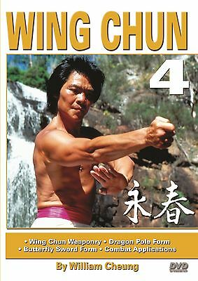 Grandmaster William Cheung Wing Chun #4 DVD Dragon-Pole & Butterfly-Sword