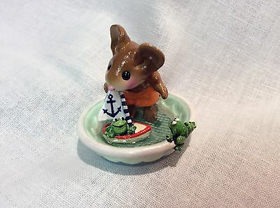 Wee Forest Folk Special Color Hop Aboard w/Anchor Hand Signed by Donna Petersen