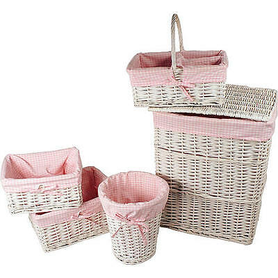 New Koala Baby 5 Piece Basket Set - White Model:15684662