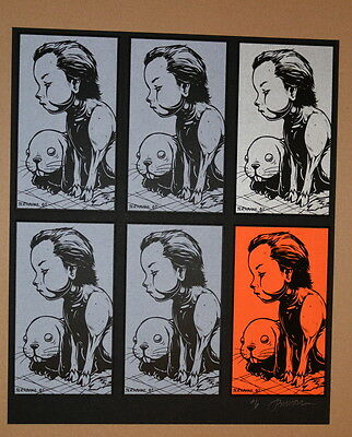 Squire - Uncut Card Set - Artist Proof  - Signed  Jermaine Rogers - Poster