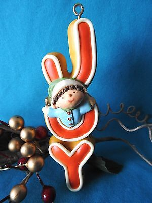 Hallmark Ornament 1978 JOY Cookie Dough Elf Boy