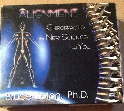 3 DVDs Alignment Chiropractic Science And You Dr Bruce Lipton Ph.D.