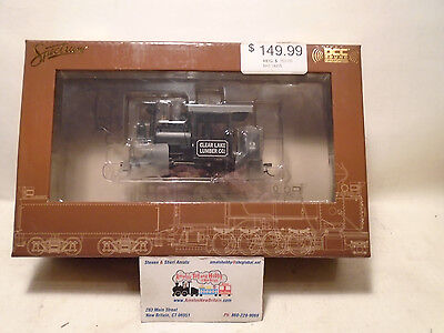 Bachmann 28205 On30 Clear Lake Lumber 0-4-2 Porter w/Sound & DCC Steam Loco #2