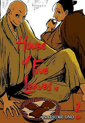 House of Five Leaves, Volume 2 by Natsume Ono (English) Paperback Book Free Ship