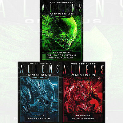 Complete Aliens Omnibus Vol (1-3) Series 3 Books Collection Set NEW Paperback