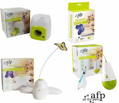 All For Paws AFP Interactive Cat/Dog Toy Game And Refill