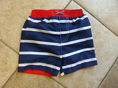 Baby Boy ex M&S Swimshorts Integrated Nappy 0-24 Months NWOT