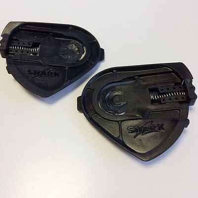 New - Shark S600/S800 Motorcycle Helmet Visor Base Plates (Pair)