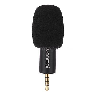 Mini Condenser 3.5mm Digital Microphone Mic for Mobile Cell Phone Recorder M5X7