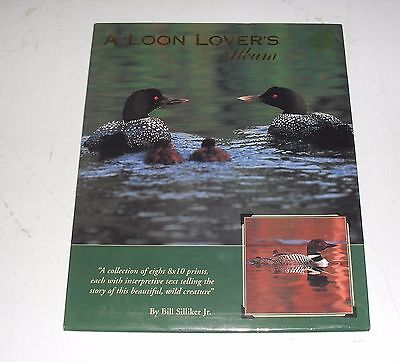 LOON LOVER'S ALBUM - COLLECTION OF 8x10 PRINTS W/TEXT TELLING THE STORY OF EACH