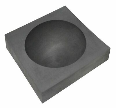 """3-1/2"""" Marble Glassblowing Sphere Graphite Mold"""