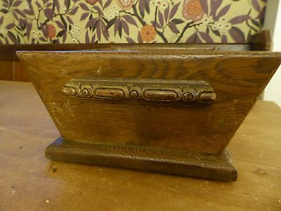 Antique wooden glass dish sliding-sided bowl fruit bread? display? unusual/rare