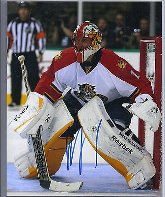 Roberto Luongo Florida Panthers Signed Autographed 8x10