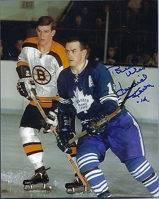"David ""Dave"" Keon Toronto Maple Leafs Signed Autographed 8x10"