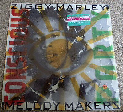 Ziggy Marley & The Melody Makers - Conscious Party 1988 Vinyl LP album