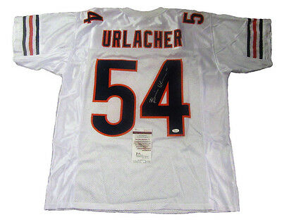 Brian Urlacher Autographed Chicago Bears Football Jersey #2, JSA
