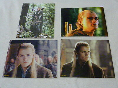 "Four 8x10"" PHOTOGRAPHS - ORLANDO BLOOM as LEGOLAS (LORD OF THE RINGS)"