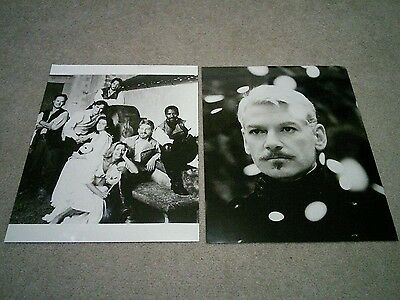 "Two 8x10"" PHOTOGRAPHS - KENNETH BRANAGH (HAMLET, MUCH ADO ABOUT NOTHING)"