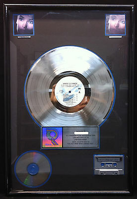 SINEAD O'CONNOR I DO NOT WANT WHAT I HAVEN'T HAD RIAA Platinum Award Plaque