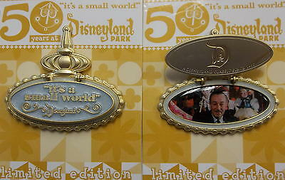 Disneyland 2016 It's a Small World 50th Anniversary Walt Disney Marquee LE Pin