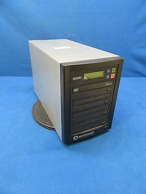 Microboards Technology CopyWriter QDVD-123-1857 DVD/CD Duplicator *Tested*