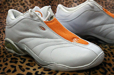 And1 Mad Game Select Mid Shoe White Orange Latrell Sprewell NYC Knicks New Neu